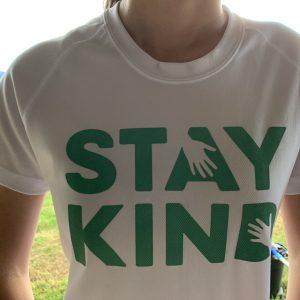 Stay Kind Large Print Shirt