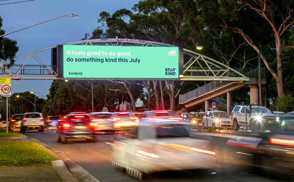 Stay Kind billboard