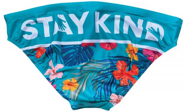 Budgy Smuggler Men's Swimwear x Stay Kind - Back