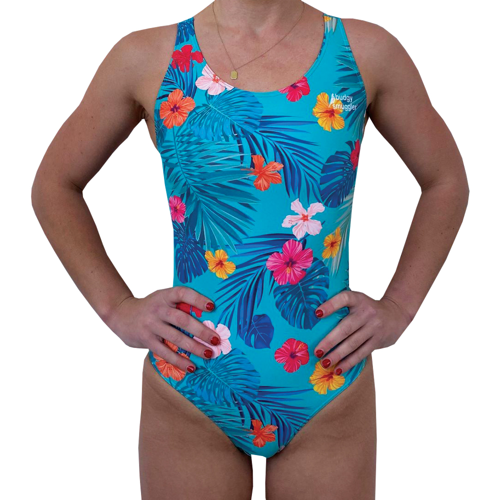 Budgy Smuggler Women's Swimwear Thick Strap x Stay Kind - Front
