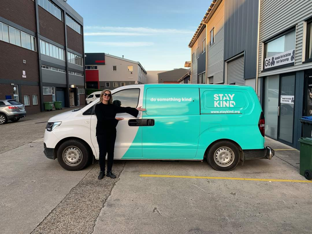 Stay Kind truck